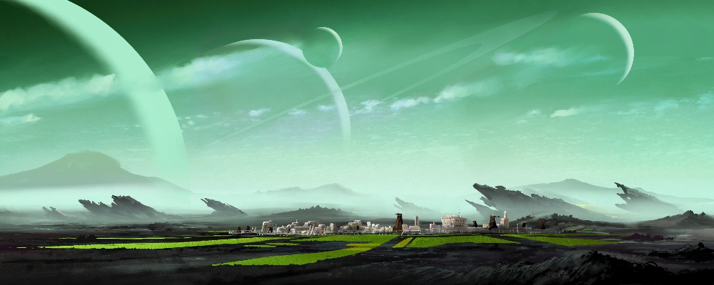 sci fi landscape alien planets - photo #6
