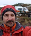 David, in Newfoundland doing aerial photography for Outlander